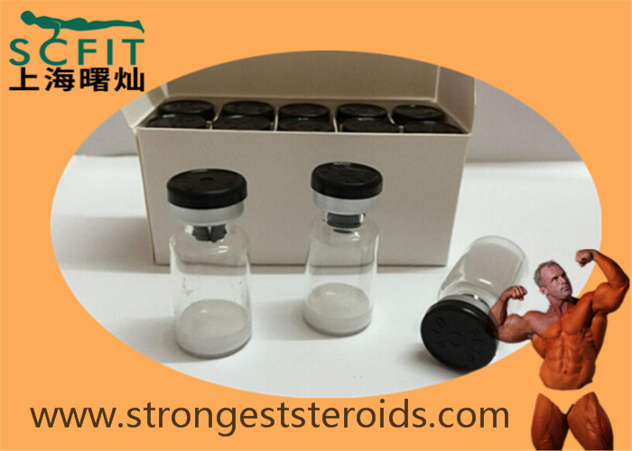 White Solid Powder Deslorelin acetate Injectable Multipeptide Muscle Growth 57773-65-5 Human Growth Peptides