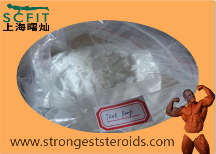 Test Prop Top Quality Muscle Building Steroids Testosterone Propionate 57-85-2 White Powder